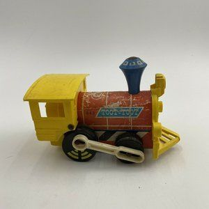Vintage 1964 Fisher Price Toot Toot Train Pull Toy